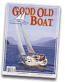 Great Old Boat Magazine Cover featuring inflatable boat repair products