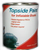 inland marine inflatable boat repair topside Paint
