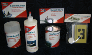 inland marine inflatable boat repair products special